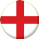 England Country Flag 25mm Keyring